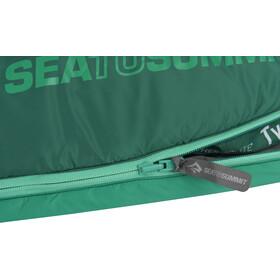 Sea to Summit Traverse TV II Sovepose Lang, grøn